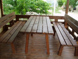 KURSI TAMAN SANTAI, OUTDOOR FURNITURE