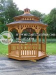 Gazebo Jati Segi 8 (GB02)