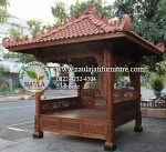 Gazebo Jati Ukir (GB01)
