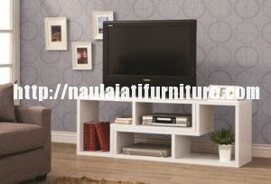 Meja TV Modern Warna Putih